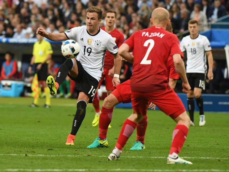 Alemanha e Polônia dividem a liderança do grupo C. (Divulgação/DFB Team)