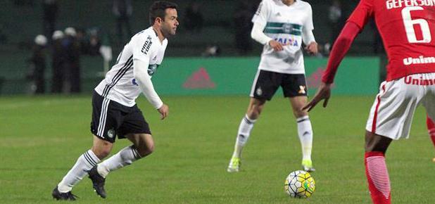 Coxa ficou no empate com o Inter. (Divulgação/ Coritiba)