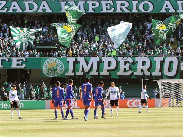 Coritiba espera bom público na partida contra o Flamengo. (Divulgação/Coritiba)