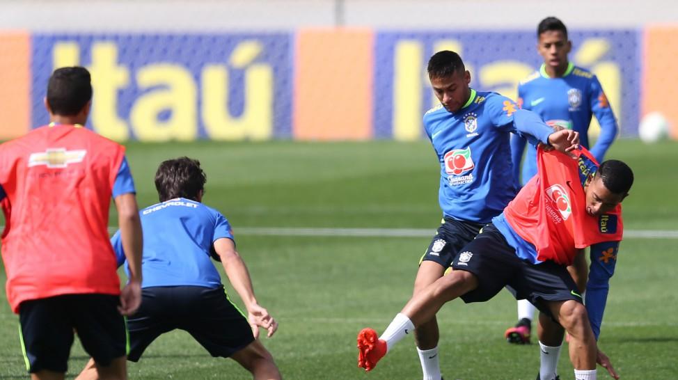 Neymar é o principal nome da seleção brasileira olímpica. (Divulgação/CBF)