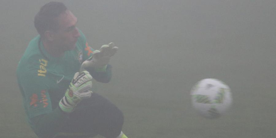 Fernando Prass tem uma lesão no cotovelo. (Divulgação/CBF)