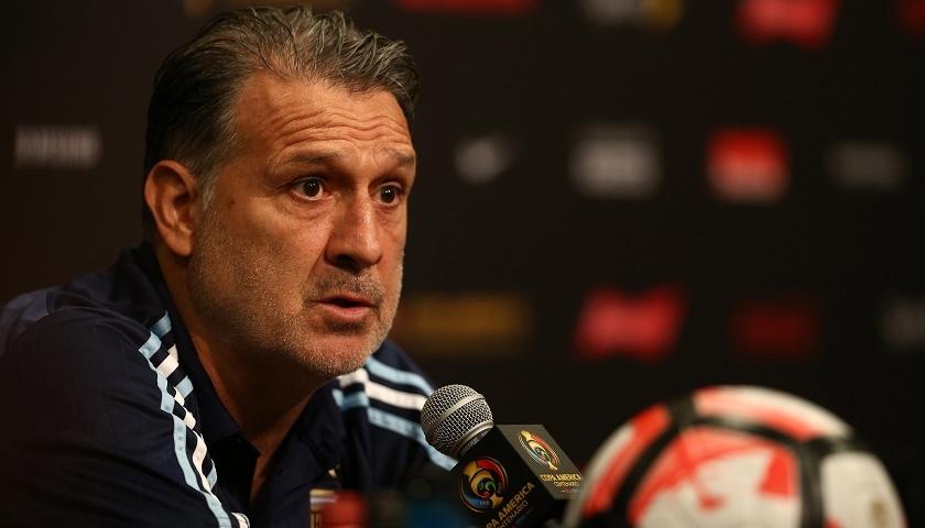 Gerardo Martino não comanda mais a Argentina na Olimpíada. (Divulgação/AFA)