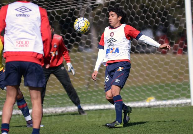 Luciano Cabral pode estrear pelo Atlético na 'decisão'. (Divulgação/Atlético)
