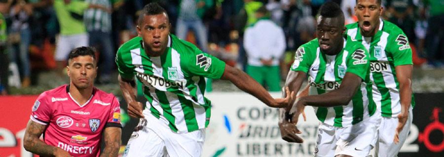 Borja foi o principal responsável pela conquista do Atlético Nacional na Libertadores e quer aproveitar o bom momento na Olimpíada. (Divulgação/Atlético Nacional)