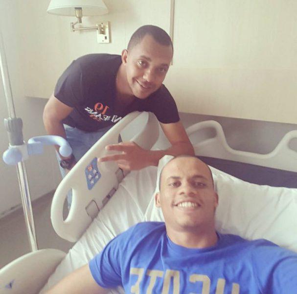 Zagueiro Cleberson passou por operação no joelho. (Reprodução)