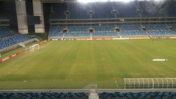 Arena Pantanal recebeu quatro partidas da última Copa do Mundo. (Felipe Dutra/Banda B)