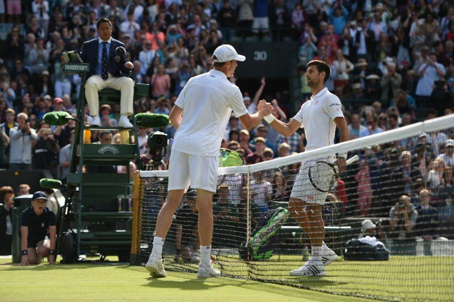 Djokovic perdeu sua primeira partida de slam desde Roland Garros do ano passado. (Reprodução/Twitter)