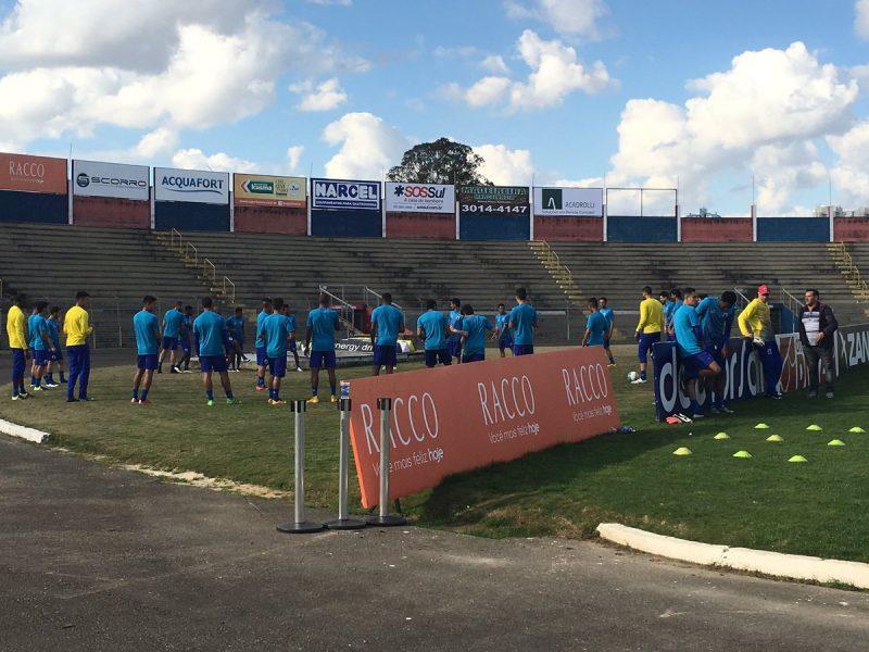 Paraná terá duas partidas seguidas na Vila Capanema. (Monique Vilela/Banda B)