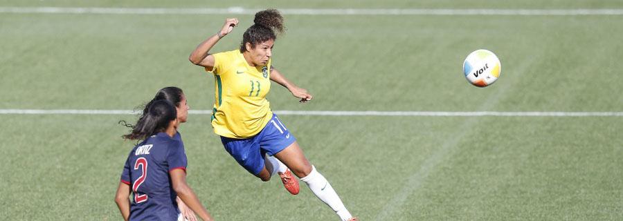 Cristiane é a maior artilheira da história da Olimpíada com 12 gols. (Divulgação/CBF)