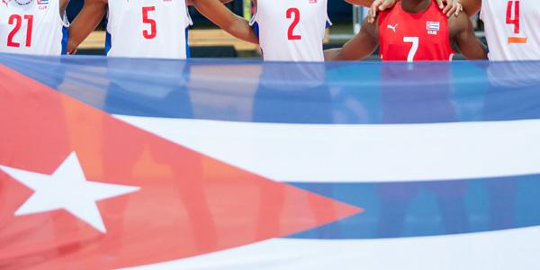 Alguns jogadores de Cuba foram presos. (FIVB)