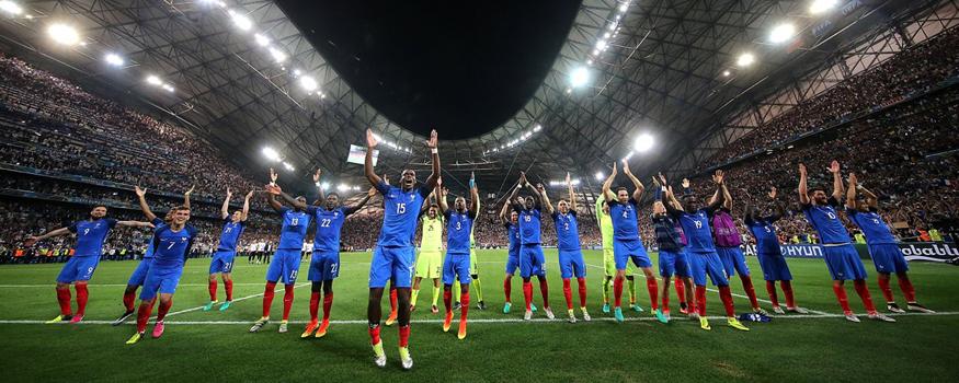 França está na final da Euro. (Divulgação/ UEFA)