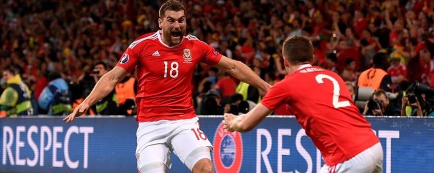 Gales está na semifinal da Euro. (Divulgação/ UEFA)