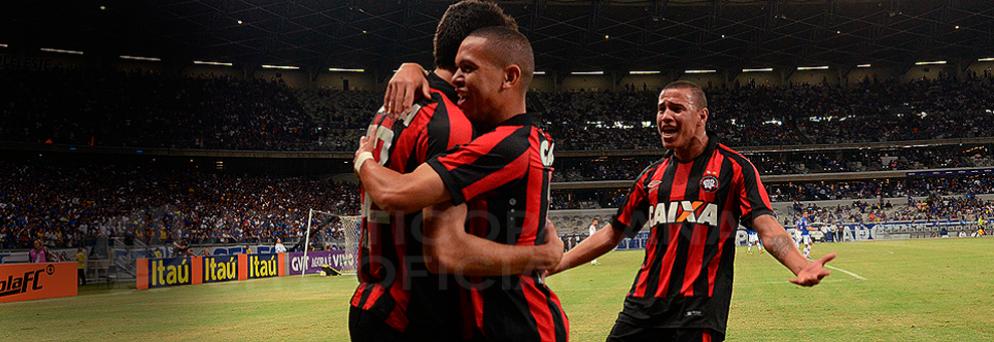 Marcos Guilherme participou de dois gols. (Divulgação/ Atlético)