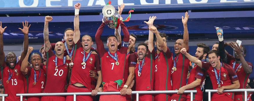 Portugal pulou para o sexto lugar. (Divulgação/ Seleções de Portugal)