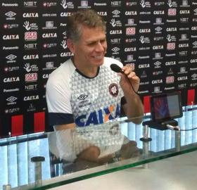 Paulo Autuori ressaltou o trabalho do Atlético nas categorias de base. (Felipe Dalke/Banda B)