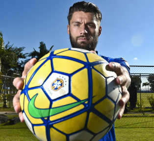 Sóbis é a novidade na equipe. (Washington Alves/ Lightpress/ Cruzeiro)