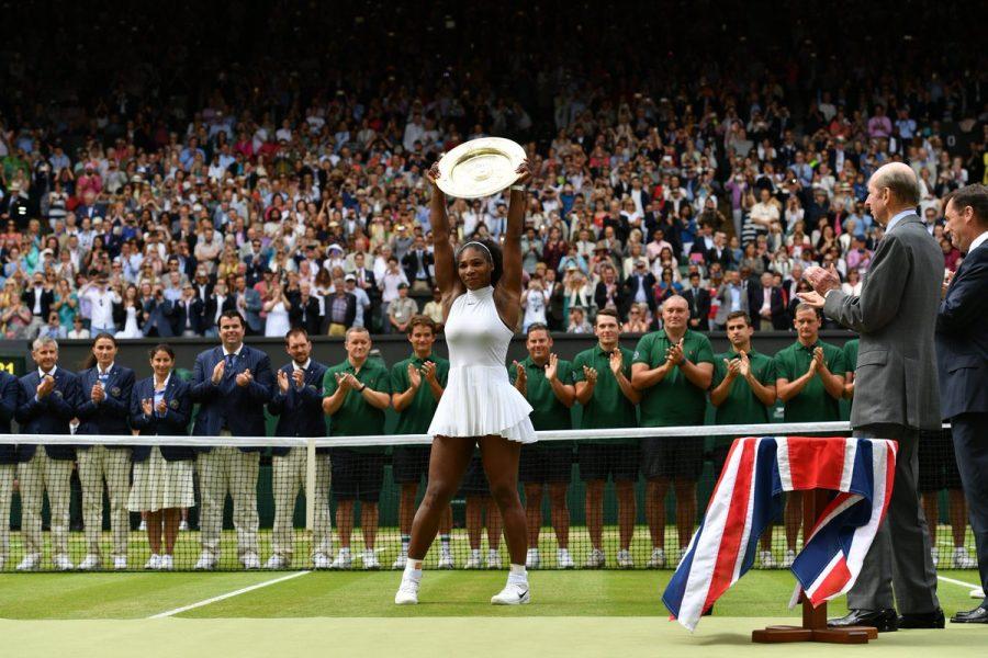 Serena Williams ganhou Wimbledon pela sétima vez. (Divulgação/Wimbledon)