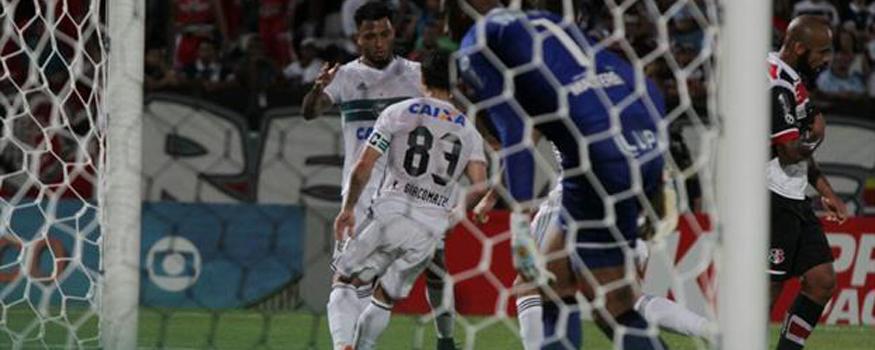 Coxa venceu fora pela primeira vez no Brasileirão. (Divulgação/ Coritiba)