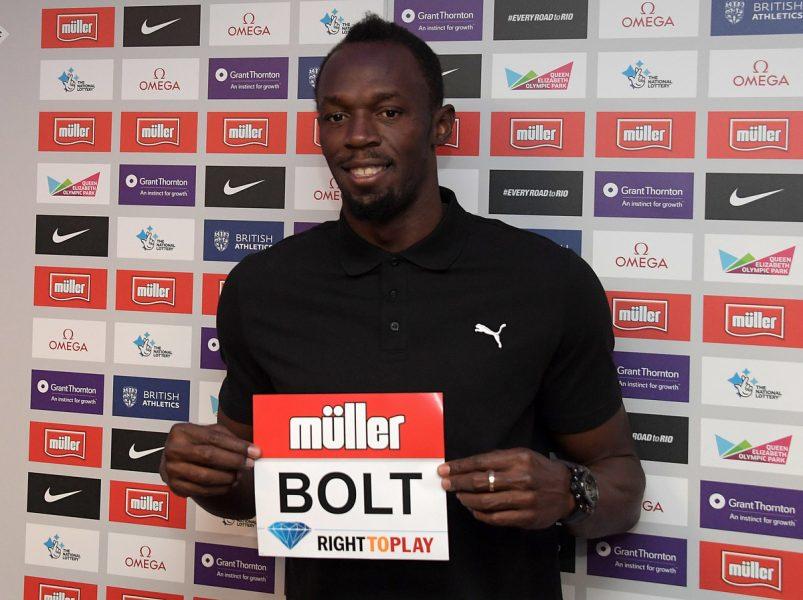 Usain Bolt completou a prova em 19s89. (Divulgação/Diamond League)