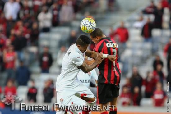 Atlético chegou aos 24 pontos na tabela de classificação. (Geraldo Bubniak/Futebolparanaense.net)