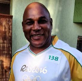Chester Williams foi o único negro campeão de Rugby pela África do Sul. (Pedro Melo/Banda B)