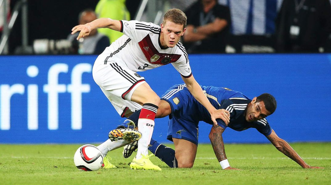 Matthias Ginter esteve na Copa do Mundo em 2014. (DFB.de)