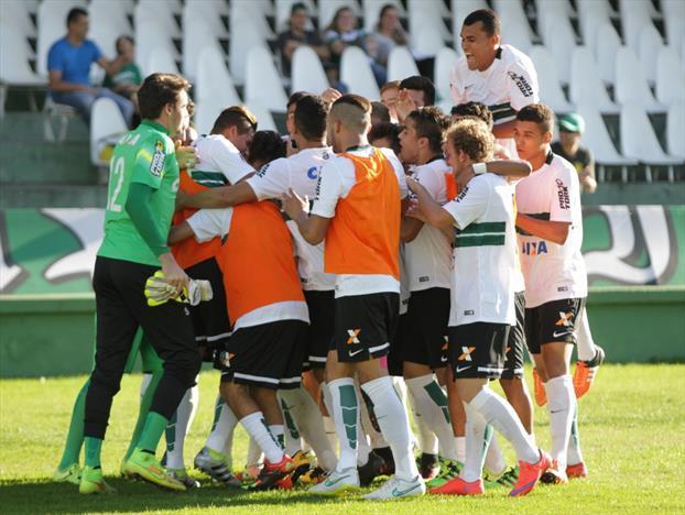 Coritiba encara o Botafogo na semifinal. (Divulgação/Coritiba)