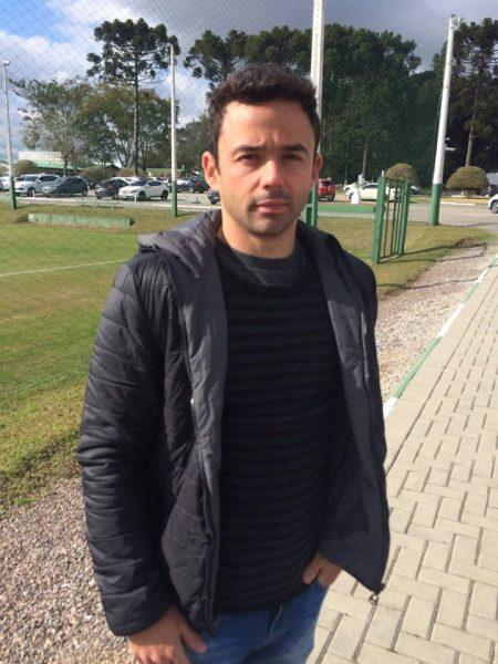 Juan teve o contrato suspenso e desfalca o Coritiba por duas rodadas. (Osmar Antônio/Banda B)
