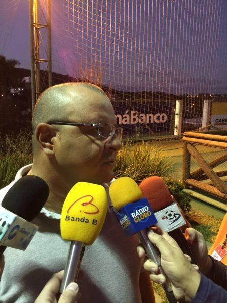 Luciano Gusso destacou a qualidade do Espírito Santo. (Felipe Dalke/Banda B)