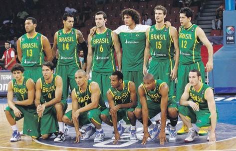 Basquete masculino do Brasil não conquista medalha desde 1964. (Divulgação)