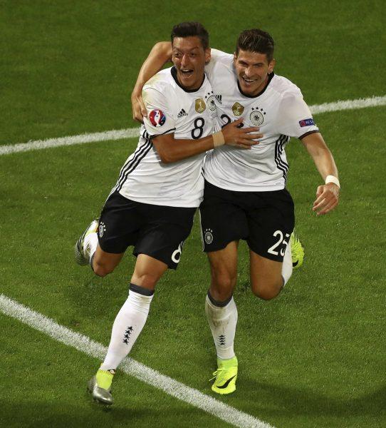 Alemanha aguarda França ou Islândia na semifinal. (Reprodução/Twitter)