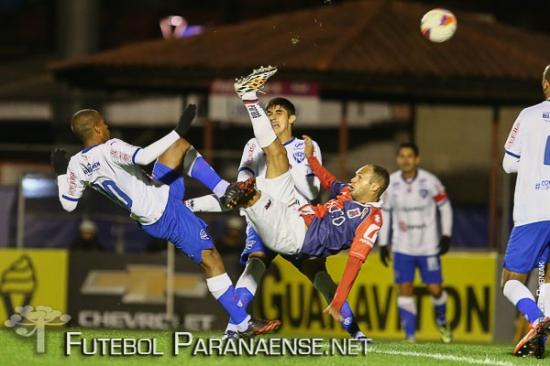 Paraná leva vantagem no retrospecto contra o Paysandu. (Geraldo Bubniak/Futebolparanaense.net)