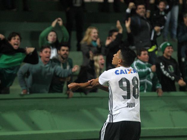 Dodô é convocado para amistosos da seleção Sub-20. (Divulgação/ Coritiba)