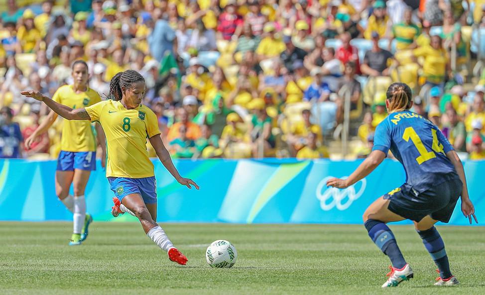 Formiga anunciou aposentadoria da seleção, mas foi convocada por Vadão. (Ricardo Stuckert/CBF)