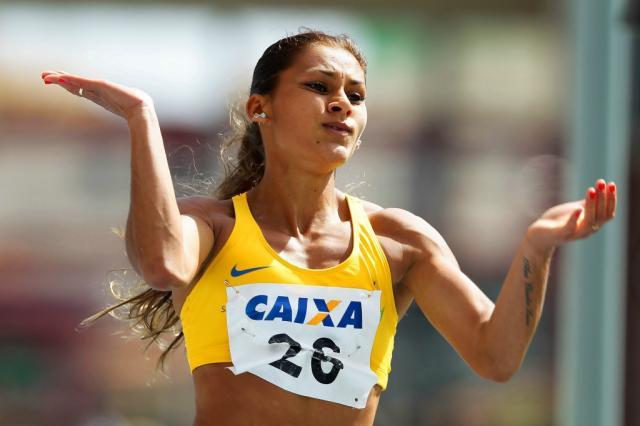 Ana Claudia Lemos está garantida no Rio. (Divulgação/ CBAt)