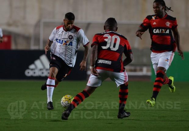 Furacão perdeu em Cariacica. (Divulgação/ Atlético)