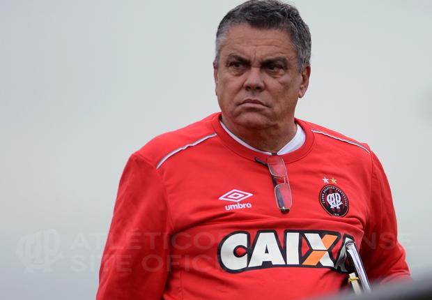 Paulo Carneiro deixa o Furacão. (Divulgação/ Atlético)