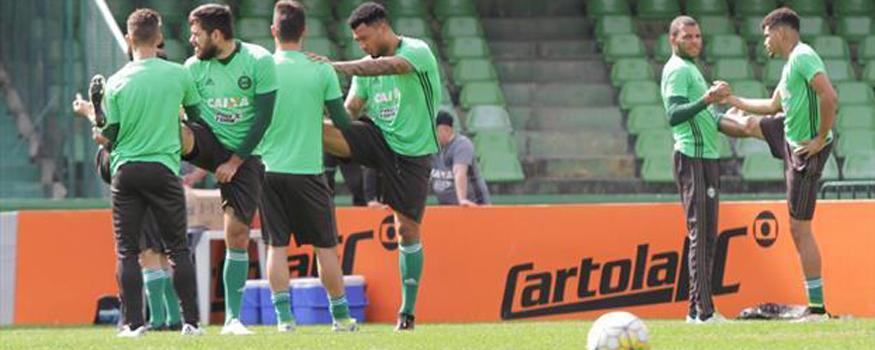 Coxa recebe a Ponte no último jogo do turno. (Divulgação/ Coritiba)