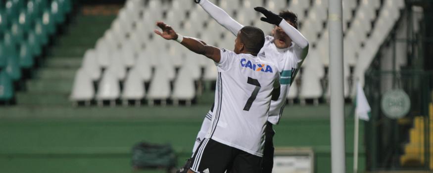 Coxa empatou com o Botafogo em jogo de ida. (Divulgação/ Coritiba)