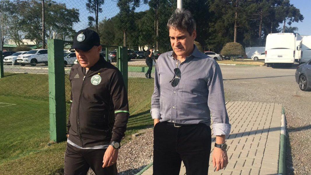 Carpegiani e Pachequinho trabalharão juntos na partida contra a Ponte Preta. (Osmar Antônio/Banda B)