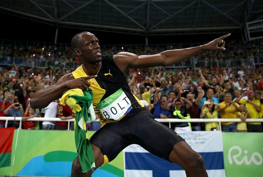 Usain Bolt conquistou o tricampeonato também no 4x100. (Divulgação/Rio 2016/Getty Images)