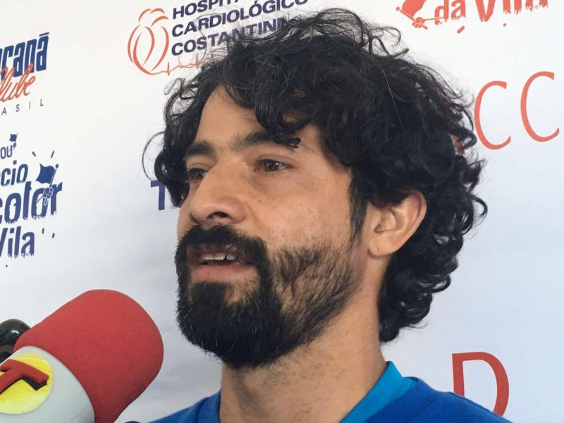 Cristian se colocou a disposição do técnico Marcelo Martelotte. (Monique Vilela/Banda B)