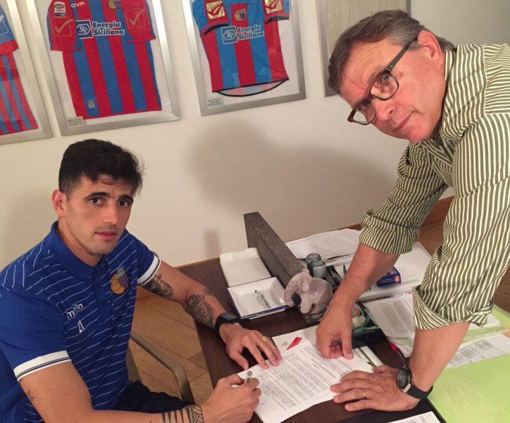 Dráusio vai jogar no Catania até 2018. (Divulgação)