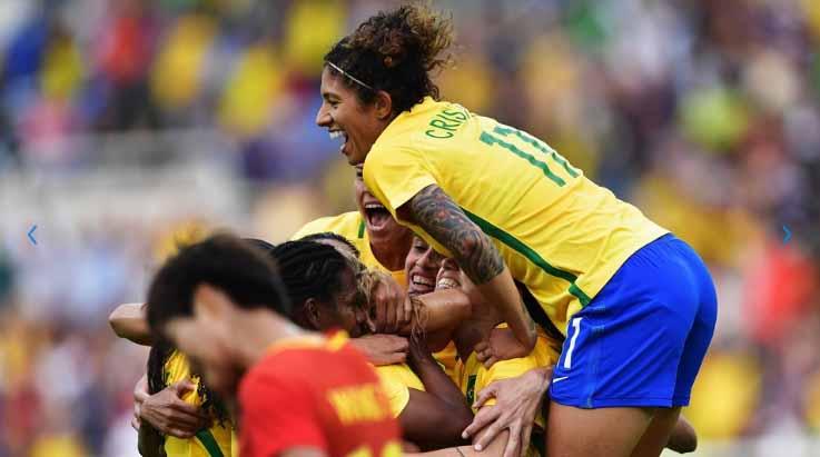 Brasil terminou a primeira fase com duas vitórias e um empate. (Lucas Figueiredo/MoWA Press/CBF)