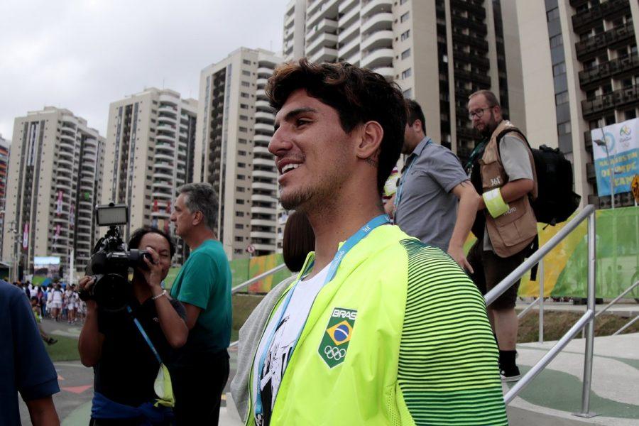 Gabriel Medina poderá ter a chance de ganhar medalha na próxima Olimpíada. (Divulgação/Time Brasil)