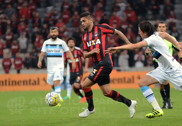 Atacante Luan já mira partida contra o Botafogo. (Divulgação/ Atlético)