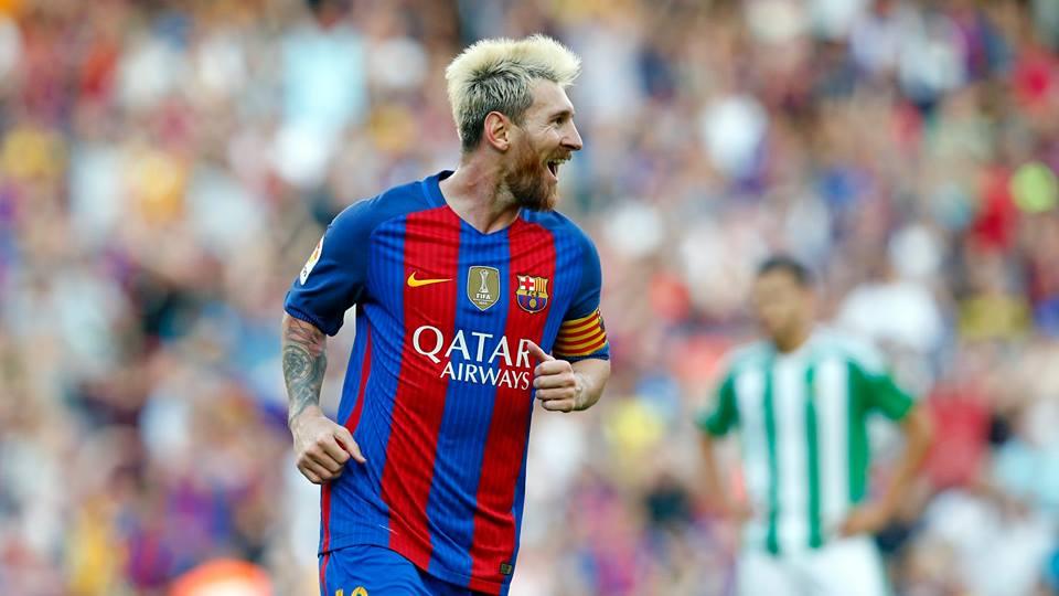 Gol de Messi foi eleito mais bonito da temporada. (Divulgação/ Barcelona)