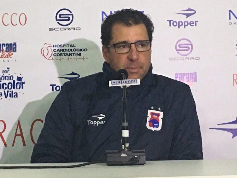 Marcelo Martelotte lamentou falta de intensidade dos jogadores. (Monique Vilela/Banda B)