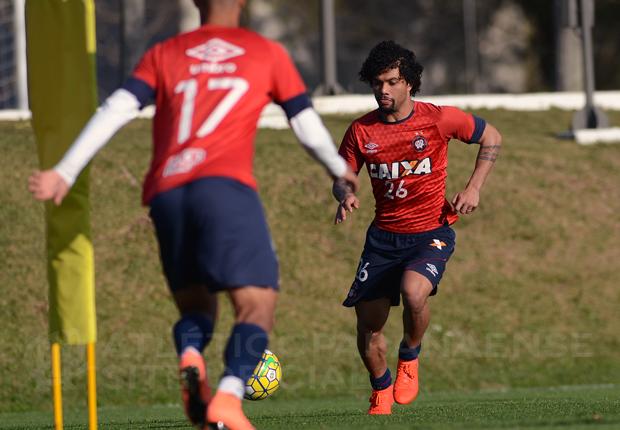 Otávio será um dos jogadores que retorna ao time titular. (Divulgação/Atlético)