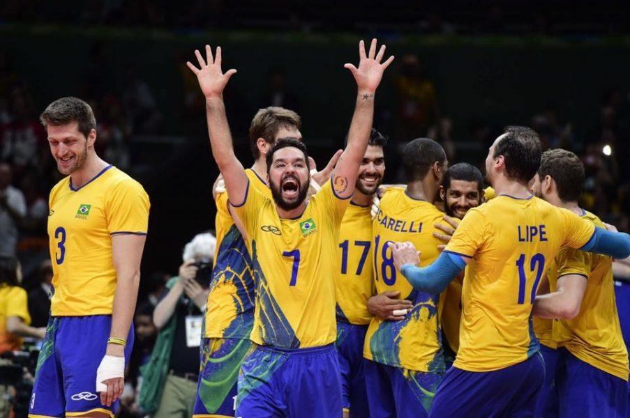 Brasil ganhou seu sétimo e último ouro no Rio 2016. (Divulgação/CBV)